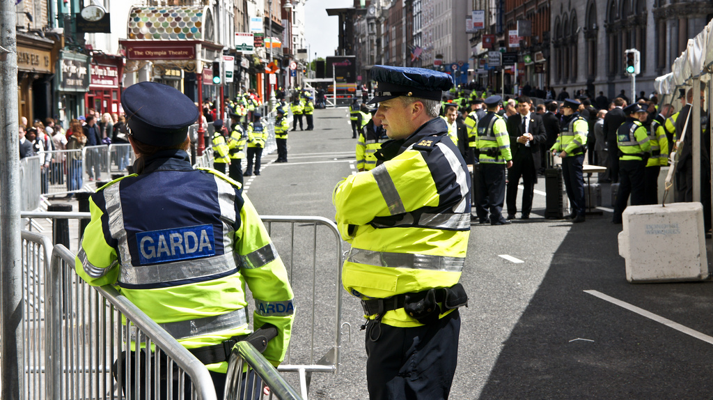 Police in Ireland