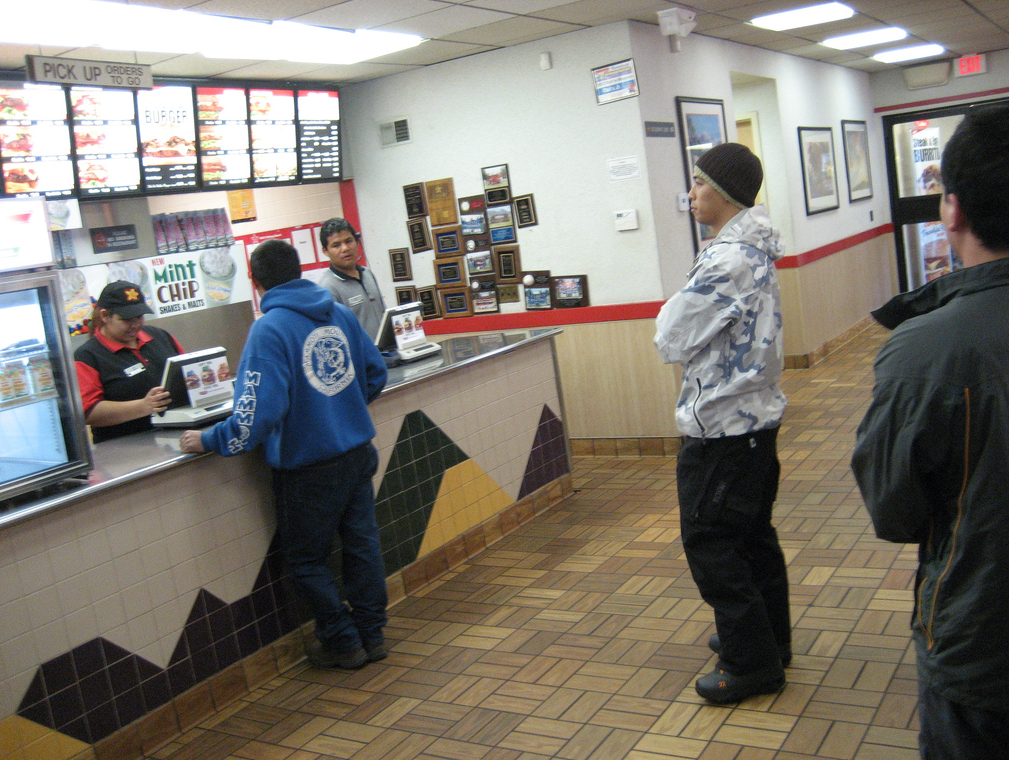 business evaluations, restaurant service, fast-food